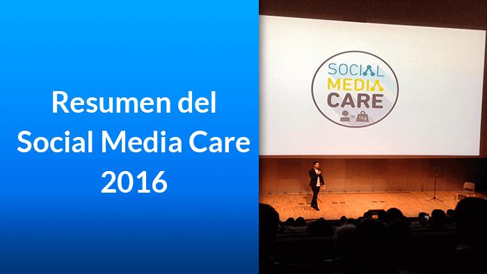 Resumen del Social Media Care 2016