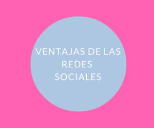 redes sociales ventajas