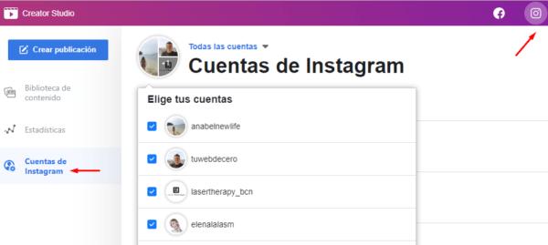Cuentas Instagram